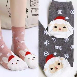 Set of 2 Winter Animal Socks